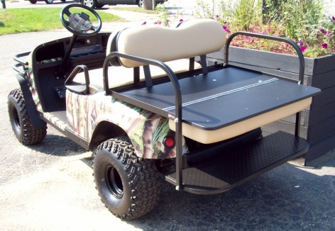 Wrapped Camo Cart