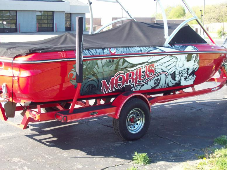 Wrapped Boat Mobius Right Side