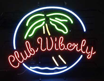 CN102 Club Wiberly Neon Sign