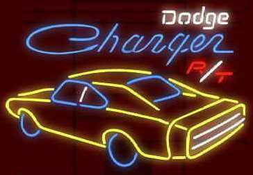 Dodge Charger rt Neon Sign