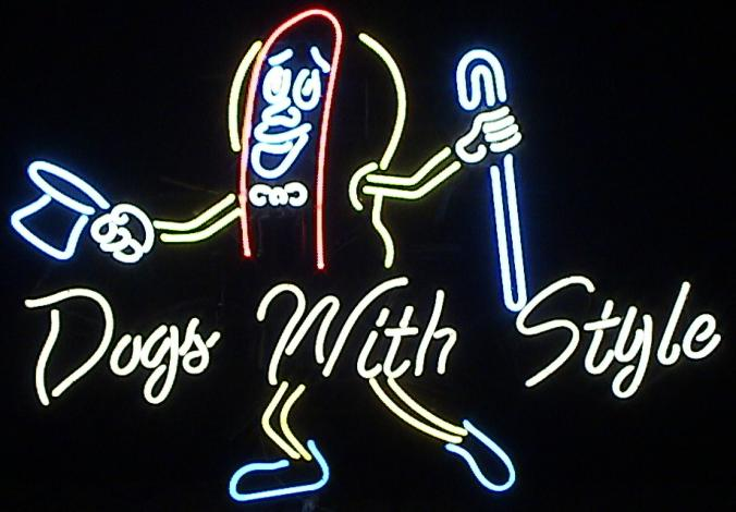 Dogs_with_Style.jpg Neon Sign