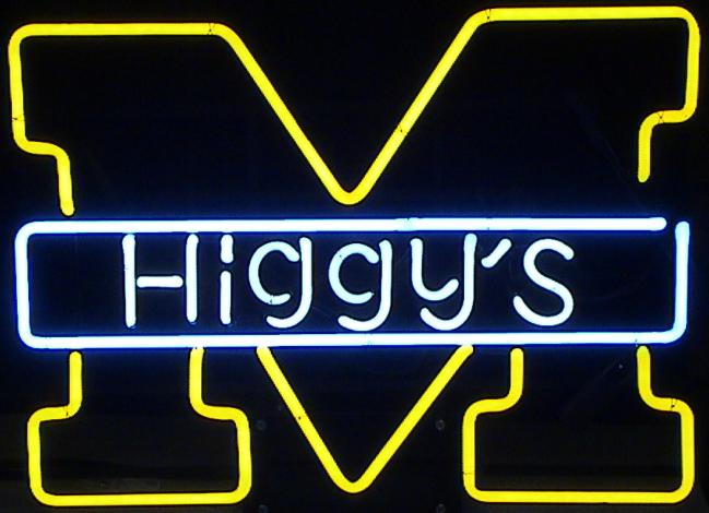 Mich_Higgys Neon Sign