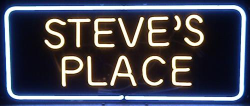 Steves_Place Neon Sign