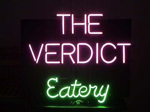 Verdict_Eatery Neon Sign