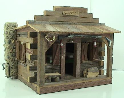 Webber Model Log Cabin