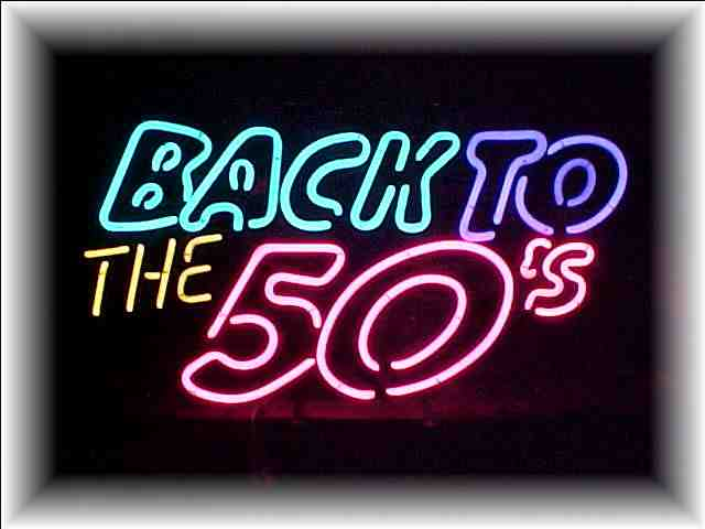 BACK TO 50'S NEON