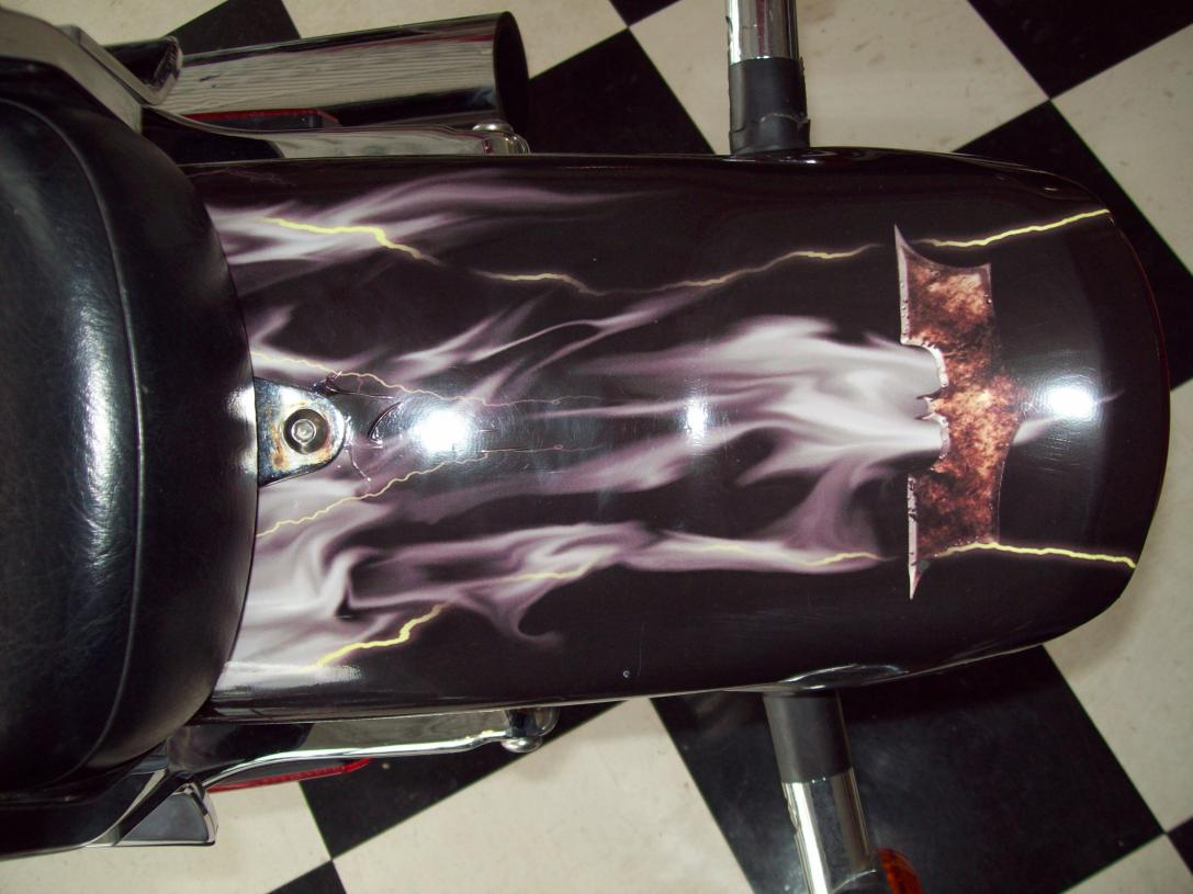 Bat Man rear fender