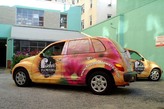 Wrapped PT Cruiser