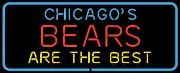 Chicago Bears Custom Neon Sign